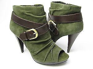 Inc International Concepts Terika Women's Open Toe shoes (6.5, Green)