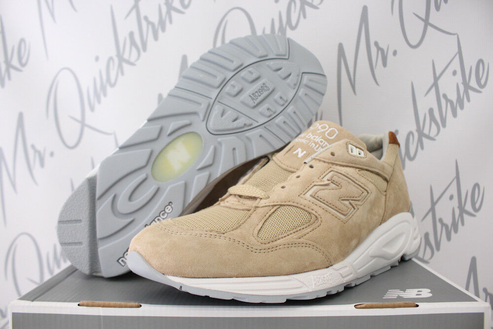 NEW BALANCE 990 SZ 11 MADE IN USA WINTER PEAKS PACK TAN WHITE KHAKI M990TN2