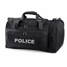 1 x POLICE black Holdall Work Bag Ideal for Police PCSO Equipment Officer