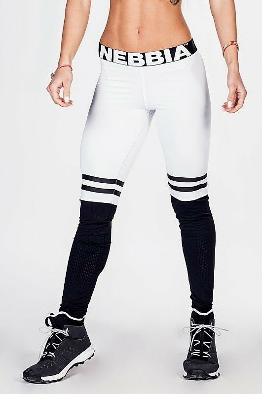 Nebbia Leggings Over the Knee 286 Weiß