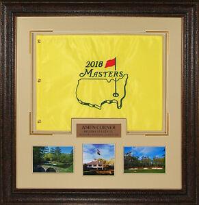 2018-Masters-Official-Licensed-Golf-Hole-Flag-Framed-Display