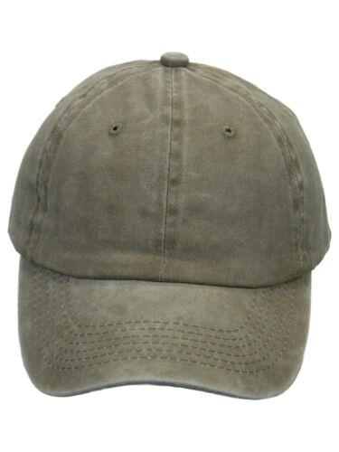 Basecap Baseball Cap Vintage Used Washed Optik verstellbar Unisex Baumwolle