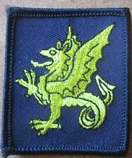 43rd Wessex brigada trf parche de colores
