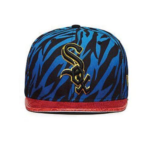 New EraMLB Chicago White Sox 9FIFTY Jungle Snapback Cap zebra men