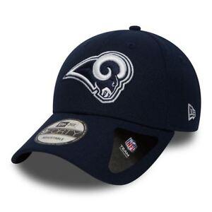 New-Era-9FORTY-NFL-Los-Angeles-Rams-Blu-The-League-Curvo-Baseball