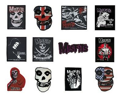 # MISFITS - OFFICIAL SEW-ON WOVEN PATCH - patches logo fiend die die my darling