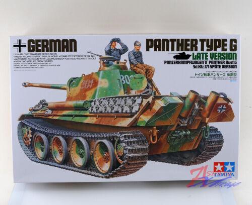 Tamiya Model 35176 1//35 WWII German Panther Type G Late Ver Tank