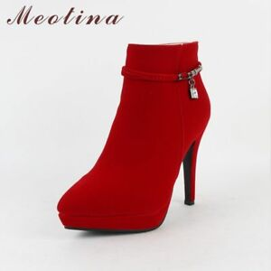 Altos Botines Tacon Tacón Botas Alto About Casuales Moda Details Mujer Elegantes De Zapatos p68nfqX5wP