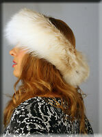 Fawn Fox Fur Headband - Efurs4less