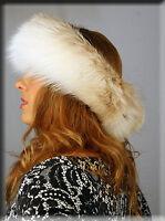 Fawn Fox Fur Headband - Efurs4less