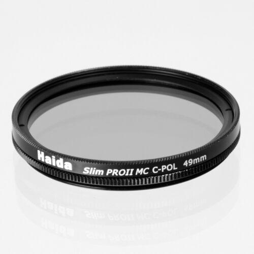Haida 49mm Slim PROII Multi-Coated Circular Polarizer C-POL Filter from US Selle