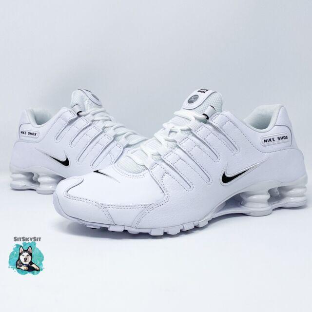 Nike Shox NZ EU  'White Black' (501524-106) Men's Size 8-8.5