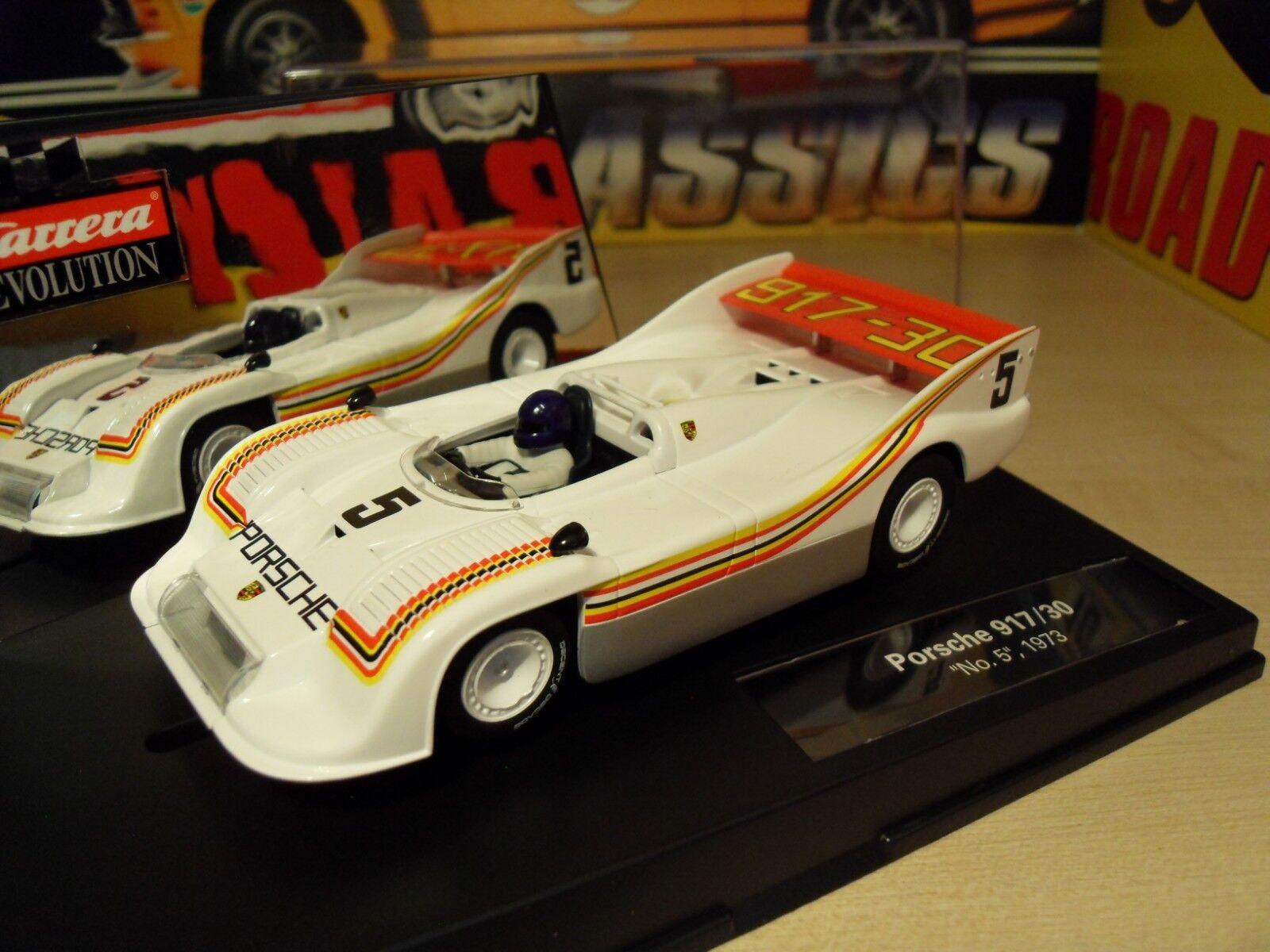 Carrera 27437 Porsche 917 30 1973 USA Limited Edition - Brand New in Box.