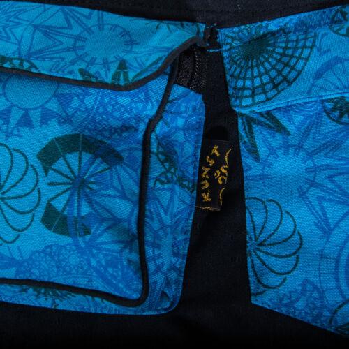 Kunst und Magie Goa Gürteltasche mit Mandala Motiven