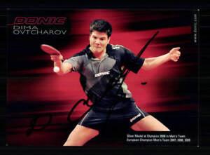 Olympische Spiele Shan Xiaona Tischtennis AK orig signiert