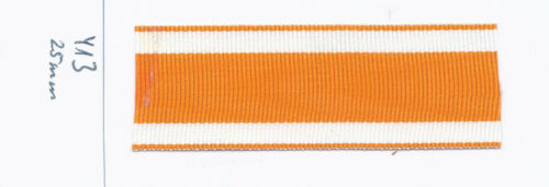 413 Ordensband Rettungsmedaille usw 25mm 25cm lang m12,00