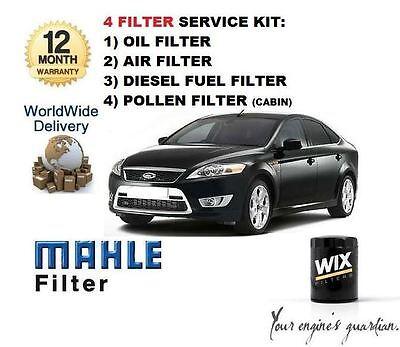 Carburant cabine /& Huile Filtre Service Kit F3 FORD MONDEO 1.8 TDCi Diesel 07-15 Air