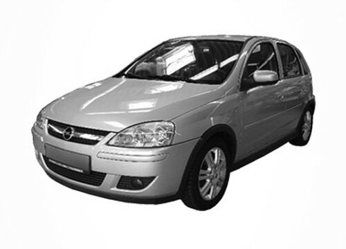 3D Tönungsfolie VORGEWÖLBT Opel Corsa C 5 Türer Bj 2000-2006