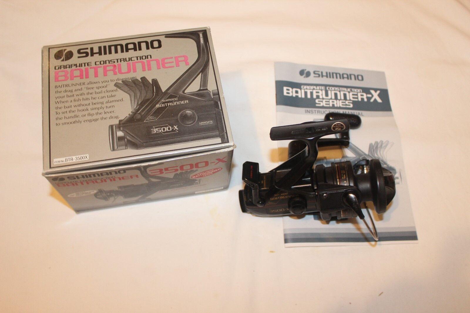 SHIMANO BAITRUNNER 3500-X-IM OVP-MADE IN JAPAN-Nr-1236