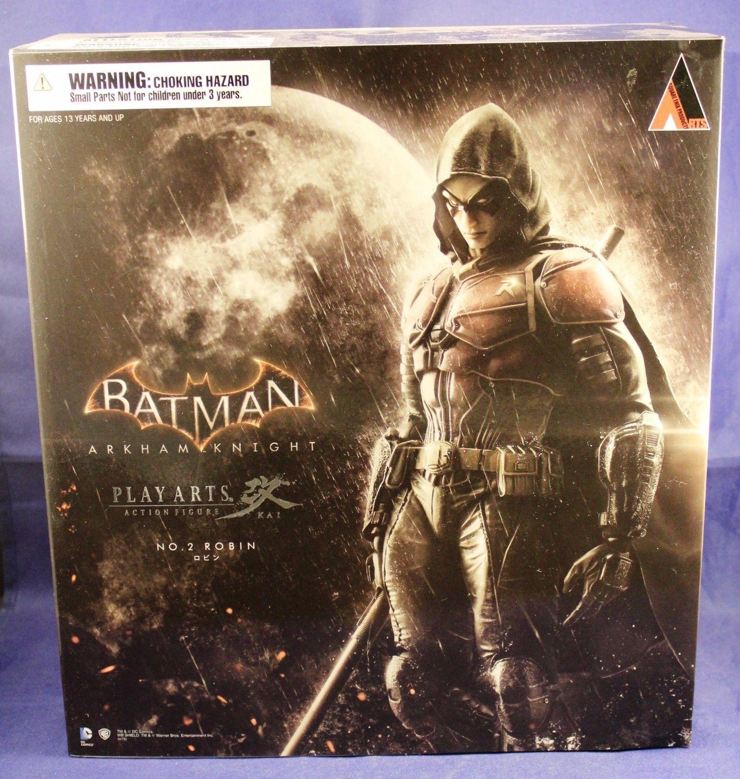 Batman arkham ritter spielen kunst kai robin actionfigur square enix nr. 2