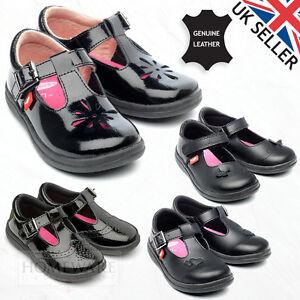 KIDS SHOES UK SIZES 6-12 BLACK