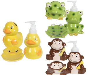 Image Is Loading ONE 1 DUCK FROG OR MONKEY SOAP DISH