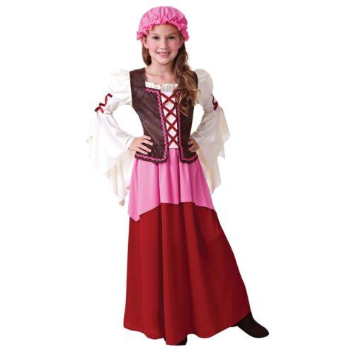 GRANDE Ragazze Piccolo Taverna Ragazza Costume-costume vestito CAMERIERA per bambini