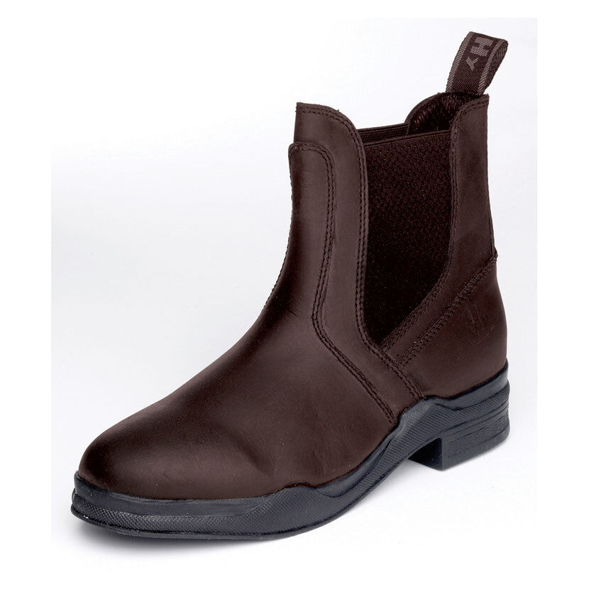 HyLAND Wax Leather Jodhpur Boot