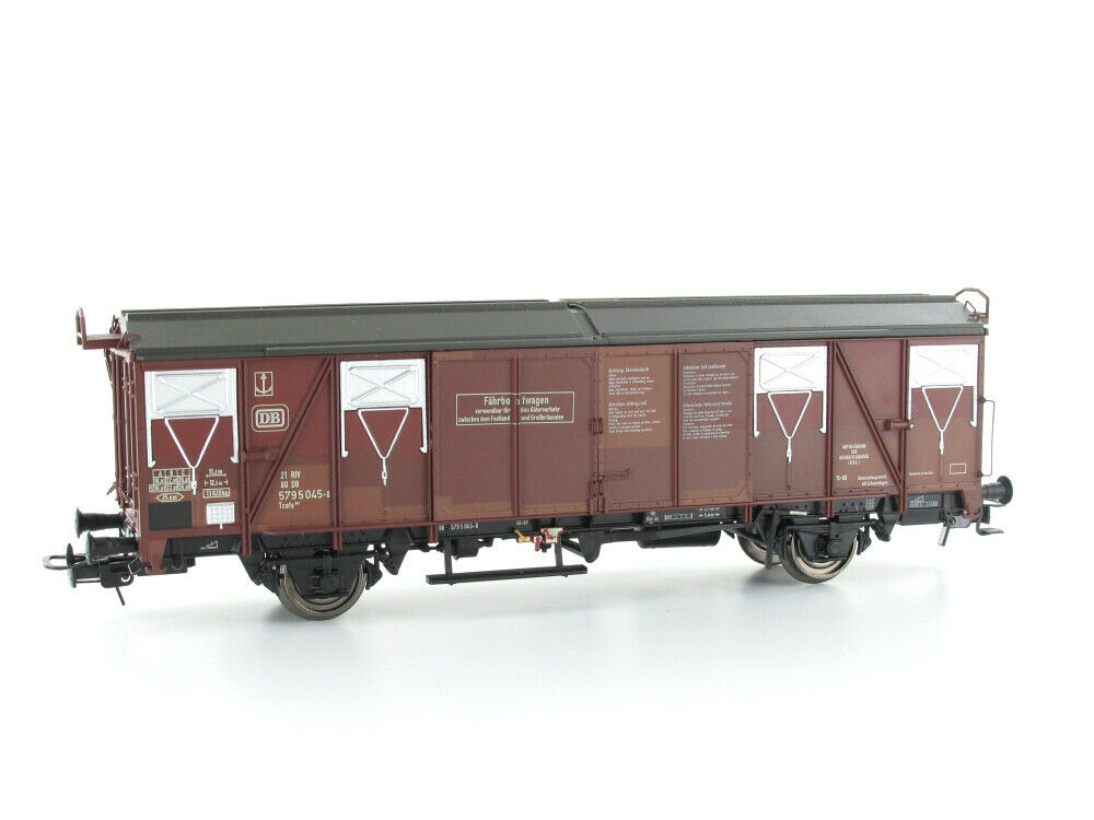 Model Train Union MU-H0-G66012 FREIGHT CARS FERRY BOAT CAR tcefs 845 Aged H0 GLE