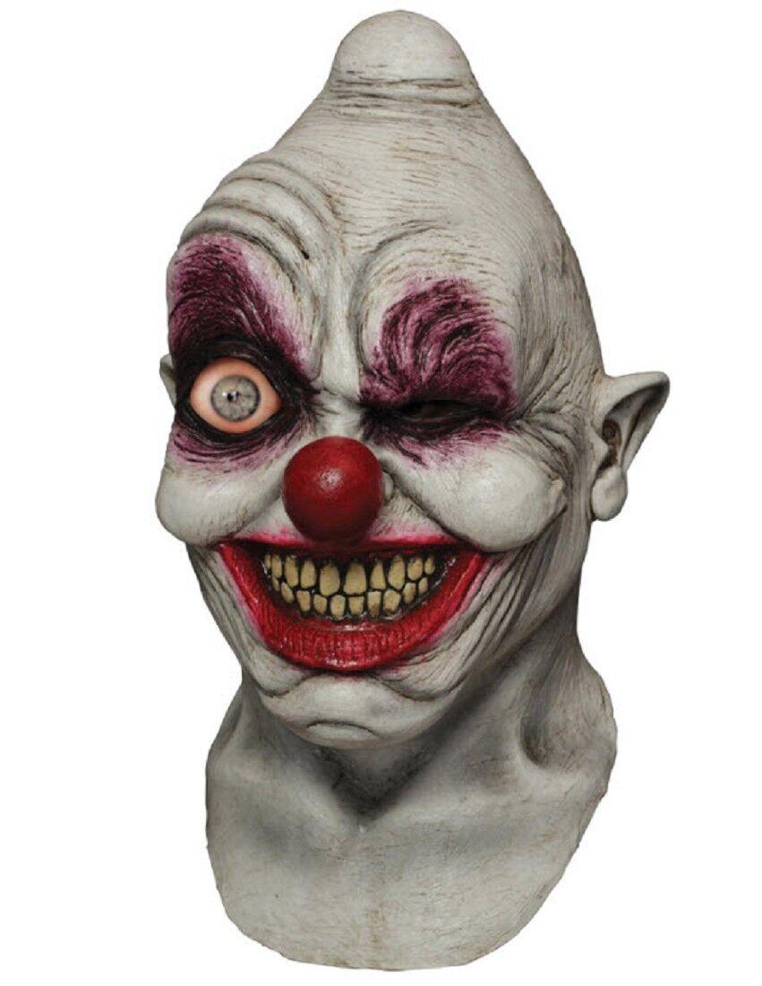 Berzerk Horror Clown Joker Evil Scary Sinister Killer Creepy Mens Costume Mask