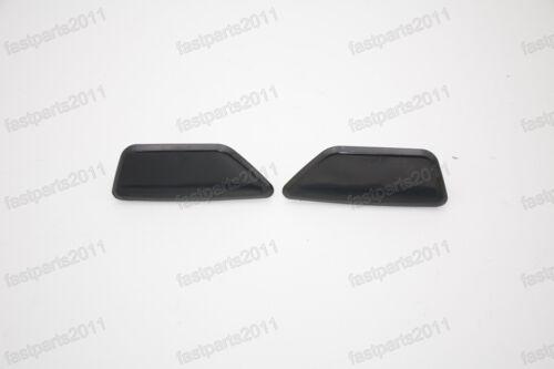 NEW OEM Headlight Washer Unprimed Cap Covers Set For Subaru XV 2012-2014
