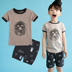 5b5aaa8386fb NWT Vaenait Baby Infant Kids Boys Short Pajama set Outfit Clothes ...