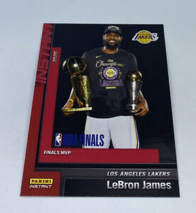 2019-20-LOS-ANGELES-LAKERS-PANINI-INSTANT-NBA-CHAMPIONS-29-LEBRON-JAMES-MVP