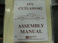 1972 Cutlass, 442 (all Models) Assembly Manual