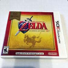 The Legend of Zelda: Ocarina of Time 3D Nintendo Select (Nintendo 3DS, 2011)
