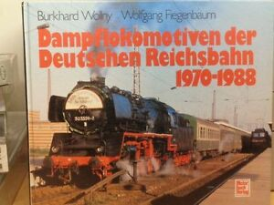 Book-Steam-Locomotives-of-The-German-1970-1988-Author-Wollny-Top-Photos
