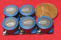 5 Pcs Tdk Slf Inductor, 22uh 3.5a Ferrite Core Wire Wound 20% Slf12565t-220m3r5