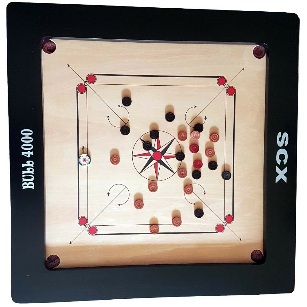 PROFFETIONAL BULL 4000 TOURNAMENT CARROM BOARD GAME X-MAS GIFTS FOR FOR FOR GRAND MOTHER 473f5b