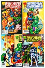 Heroes Reborn The Return 1 NM Variant Salvador Larroca Tim Townsend 1997 Marvel