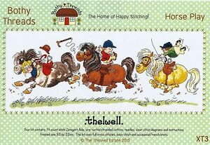 Bothy threads thelwell horse play cartoon horse racing cross stitch image is loading bothy threads thelwell horse play cartoon horse racing publicscrutiny Choice Image