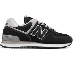 Details zu New Balance 574 Damen Sneaker Schuhe Turnschuhe Sportschuhe  schwarz WL574EB WOW