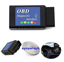 OBDII Scanner Reader Bluetooth CAN OBD2 ELM327 Scan Tool for Torque Android