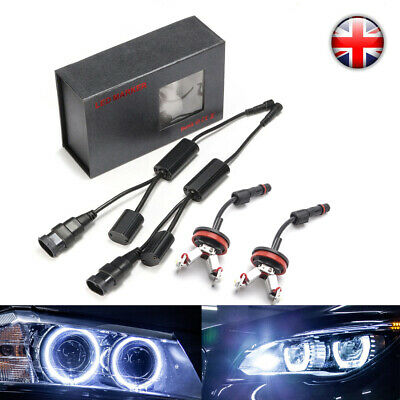 H8 LED Halo Angel Eye Marker Light Bulb For E90 E92 E93 E89 E89 E60 E70