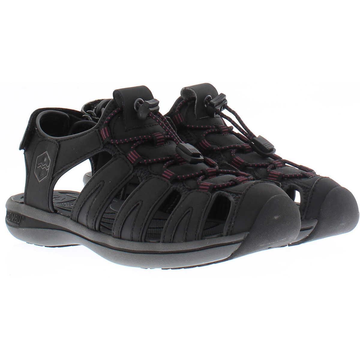 NEW Khombu Women Color Ladies Active Sandal, Ashley Color Women Black , Gray Pick Your Size 00ea58