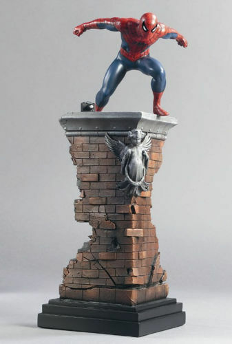 SPIDER-MAN 1960's STATUE BY BOWEN DESIGNS, SCULPTED BY RANDY BOWEN