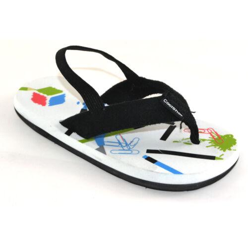 Cool Shoe Kids Flip Flops School Boy