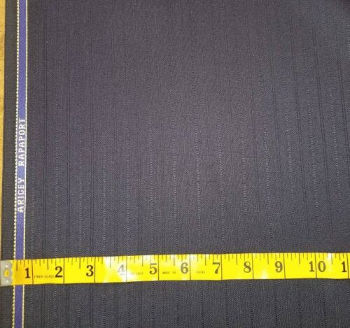Super 120/'S  English wool suit fabric 9.5 Yards  Navy Blue wool suiting fabric