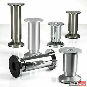 Moebelfuss-Set-Alpha-80-150-mm-Moebelfuesse-Sockelfuesse-Schrankfuesse-Bettfuss-Sofafuss