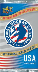 2013-National-Hockey-Card-Day-Upper-Deck-complete-set-17-cards-USA-VERSION