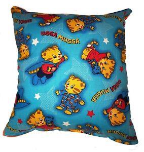 Daniel-Tiger-Pillow-Nickelodeon-Tiger-Pillow-Handmade-In-USA